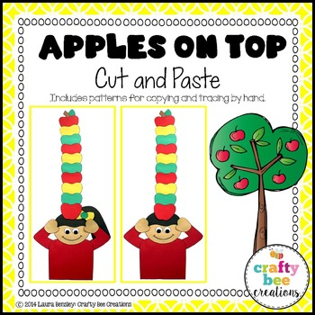 Apples on Top Cut and Paste