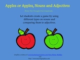 Apples or Apples, Nouns and Adjectives