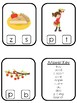 Apples themed Beginning Sounds Clip It Game.Printable Preschool Game