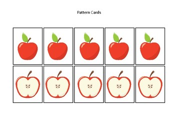 photo regarding Apples to Apples Cards Printable identify Apples themed Routine Playing cards and Match Board. Printable Preschool Recreation