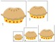 Apples themed Size Sequence. Printable Preschool Game