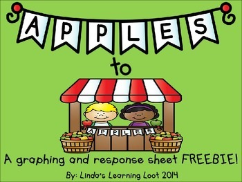 Apples to Apples: A Picture Graphing FREEBIE with Writing