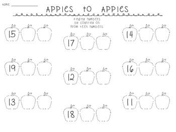 Apples to Apples: Finding Numbers More and Less