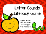 Apples to Apples Letter Sound Game