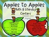 Apples to Apples Math & Literacy Pack B (1st Grade CCSS)
