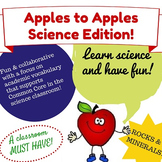Apples to Apples Science Game - Rocks and Minerals Edition! (Science Vocabulary)