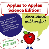Apples to Apples Science Inquiry Game | Middle School Scie