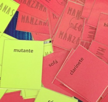 Apples to Apples Spanish Cognate Edition
