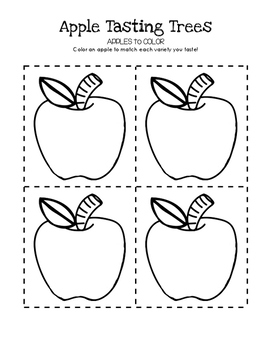Apples to Color - Apple Tasting Tree