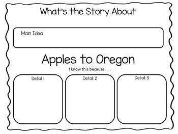 Apples to Oregon  39 pages of Common Core Activities