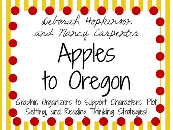 Apples to Oregon - A Picture Book Study!