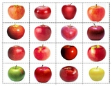 Apples varieties: Mini Matching Cards