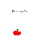 Apples with Hearts- Clips