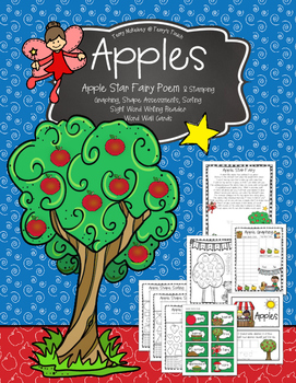 Apples with The Apple Star Fairy Poem and Craftivity