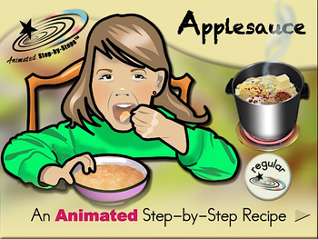 Applesauce - Animated Step-by-Step Recipe - Regular