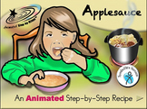 Applesauce - Animated Step-by-Step Recipe - SymbolStix