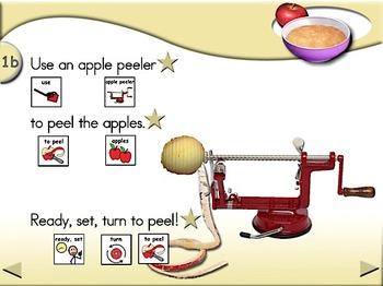 Applesauce - Animated Step-by-Step Recipe - SymbolStix