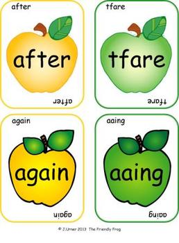 Applesauce & Scrambled Words Write the Room (First Grade Edition)