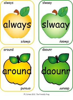 Applesauce & Scrambled Words Write the Room (Second Grade Edition)