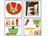 Applesauce and Cinnamon Ornaments Sequencing Pictures