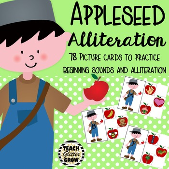 Appleseed Alliteration - A beginning sound activity for th