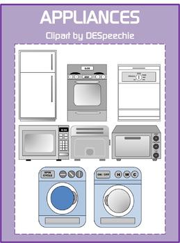 Appliances - Clipart