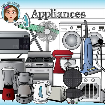 Appliances- Home and Electric Clip Art