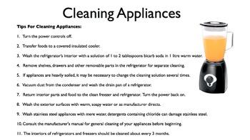 Appliances PowerPoint