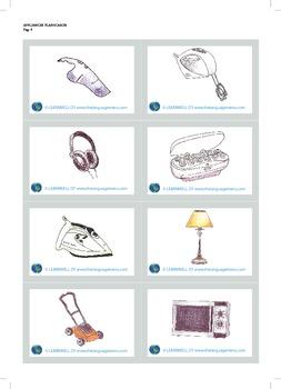 Appliances - picture flash cards