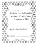 Application Booklet Gr 2 Mod 4 Add/Sub W/in 200 w/Word Pro