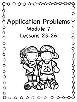 Application Problems Engage NY Module 7
