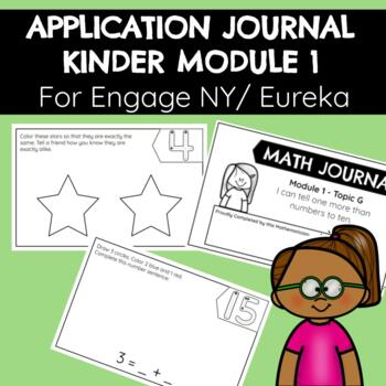 Application Problems for Engage NY Kinder Module One