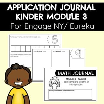 Application Problems for Engage NY Kinder Module Three
