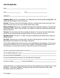 Application for Classroom Jobs