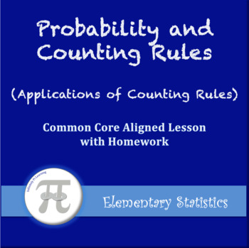 Application of Counting Rules (Lesson Plan with Homework)