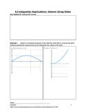 Application of Integration: Disk Method Volume Lesson 2 of 5