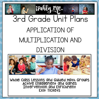 Application of Multiplication and Division Guided Math Lesson Plans ...