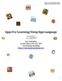 Applications for Learning/Using Sign Language