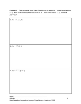 Applications of Differentiation Lesson 2 of 7