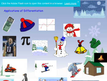 Applications of Differentiation Review Game