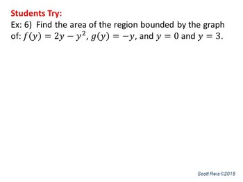 Applications of Integration: Area Between Curves