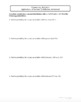 Applications of Normal Distribution (Lesson with Homework)