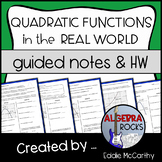 Applications of Quadratic Functions - Modeling Real World
