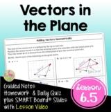 PreCalculus: Vectors In the Plane