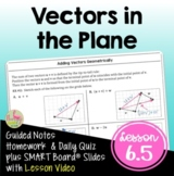 Vectors in the Plane (PreCalculus - Unit 6)