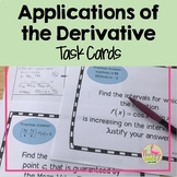 Calculus Applications of the Derivative Scavenger Hunt Act