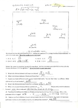 Applications of the Distance Formula