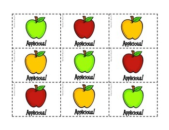 Applicious! An apple-themed reinforcer game