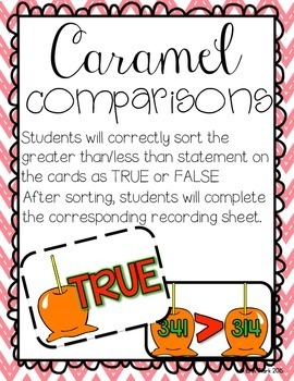 Applicious Math! {5 CCSS Aligned Back to School Math Centers}