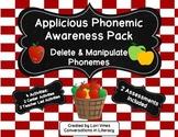 Applicious Phonemic Awareness Pack:  Delete and Manipulate Phonemes